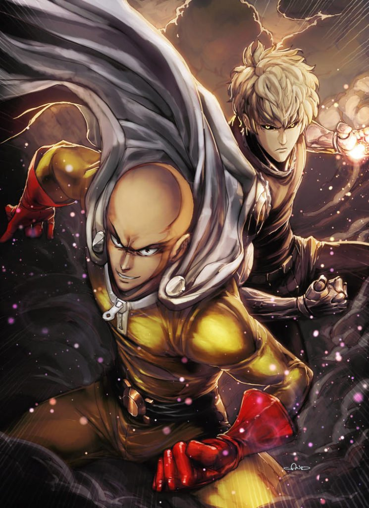 One-Punch Man Season 2 Release Date is 9th April 2019 - Adrionox