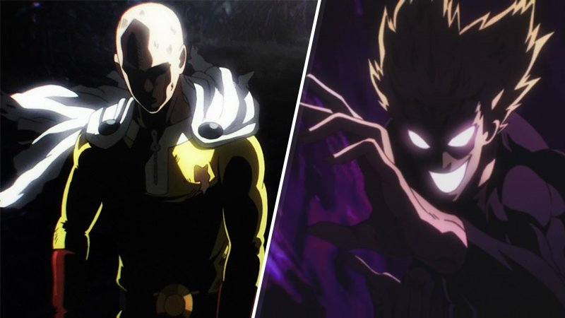 One-Punch Man Season 2 Saitama vs Garou