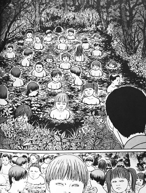 CHILDREN OF THE EARTH - Best of Junji Ito