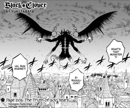 Black Clover Chapter 205 – Summary and Review