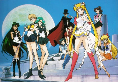 Sailor Moon Super from the Opening