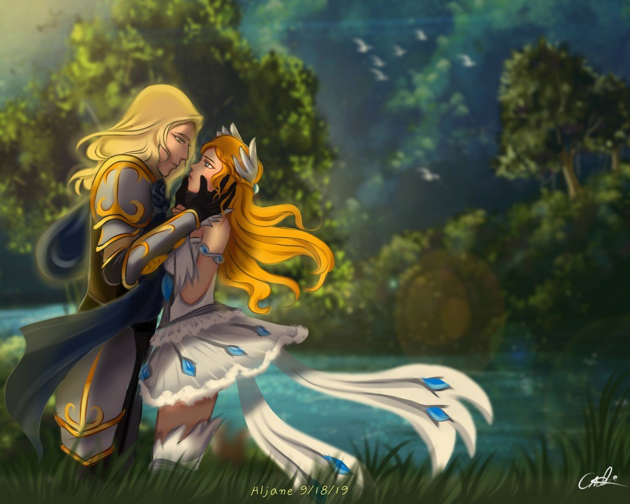 Lancelot and Odette - Mobile Legends Couples