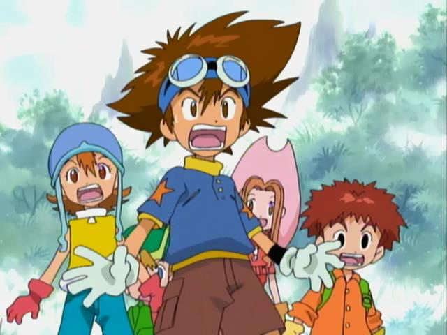 Characters in the original Digimon Adventure 1999