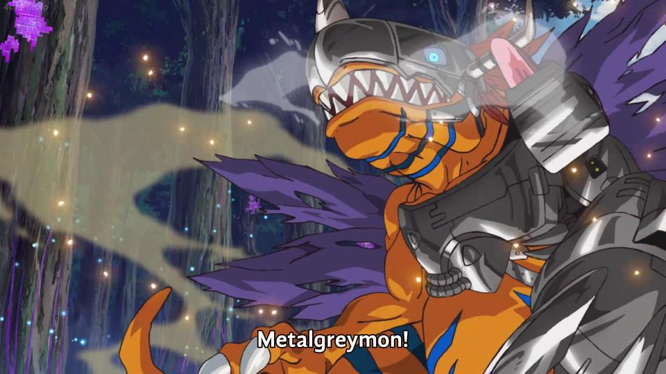 Evolution in Digimon Adventure - Metalgreymon