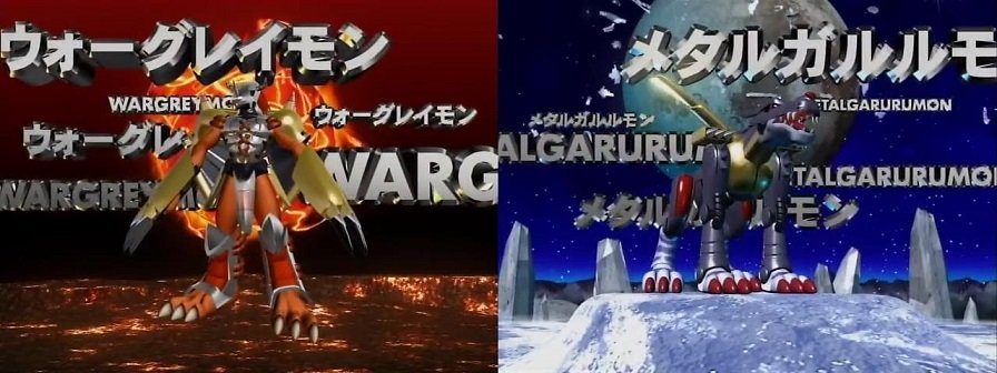 3rd evolution stages from the original Digimon Adventure 1999